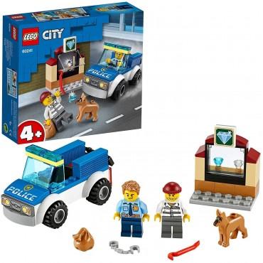 LEGO City unità Cinofila...