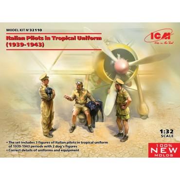 Italian Pilots in tropical...