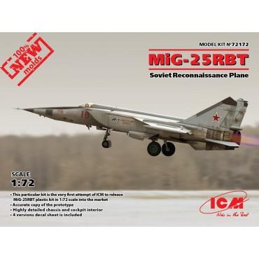 72172 MiG-25 RBT, Soviet...